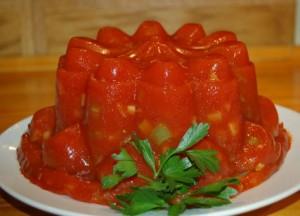 Aspic de tomates