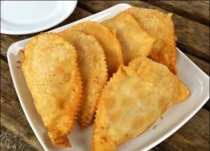 Empanadas de macha fritas