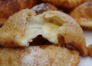 Empanaditas de queso fritas