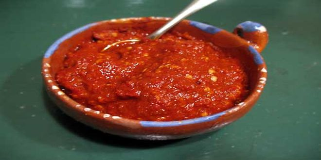 Salsa de Ají a la Chilena