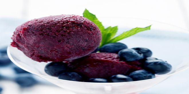 sorbete de berries