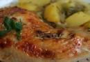 Pollo con Verduras al Horno