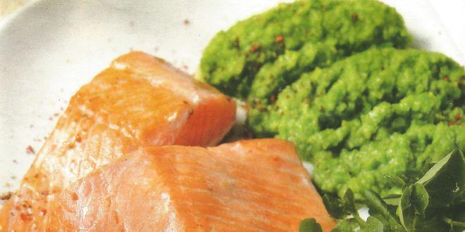salmón al vino blanco