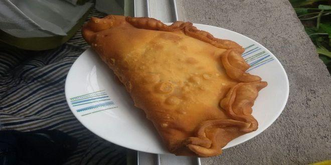 Empanadas de pino fritas